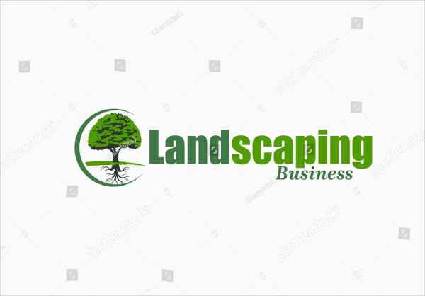 Landscaping Logo Vector Design