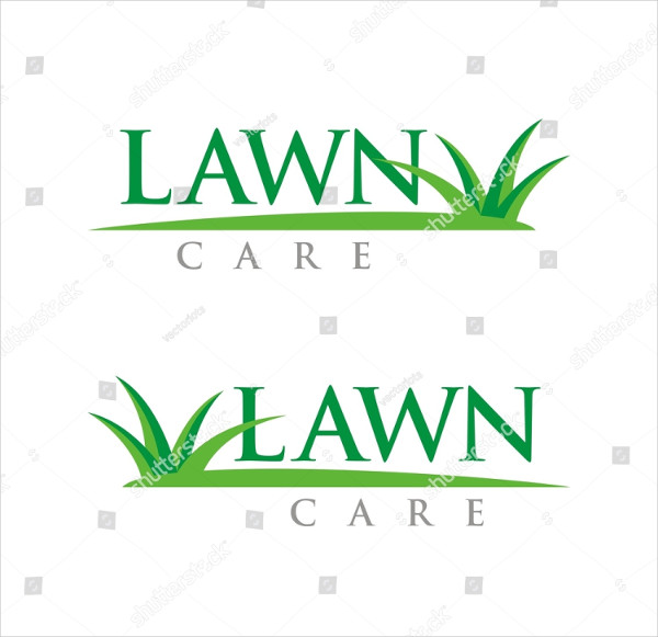 Lawn Care Logo Design Template