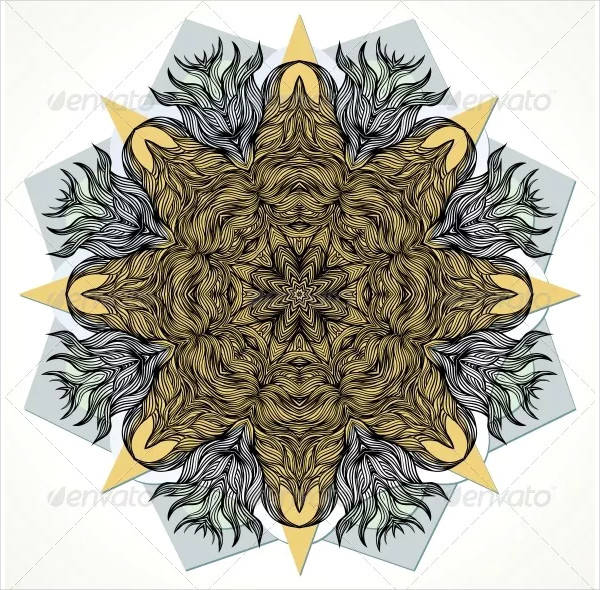 Mandala Design for Cards