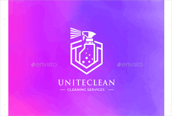 Modern Cleaning Logo Designs