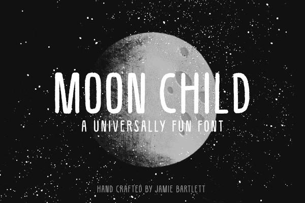 Moon Child Font
