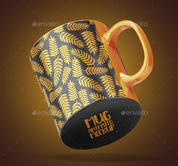 Mug Animated Mockup Template