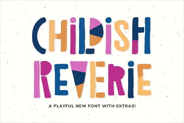 New Childish Font