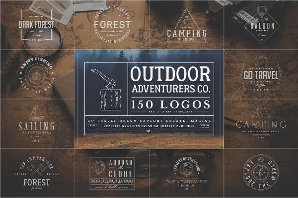 Outdoor Adventurers Logos