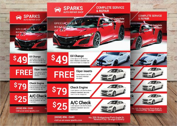 PSD Car Business Flyer