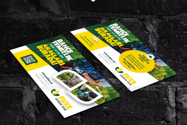 PSD Landscape Business Card Templates