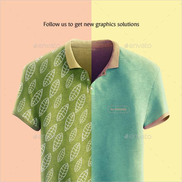 Polo Shirt Animated Mock-Up