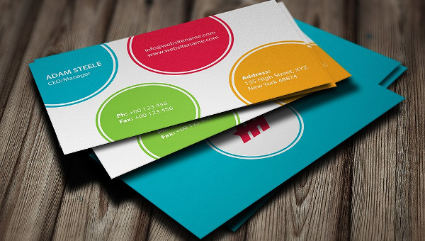 Polygon Business Card Design