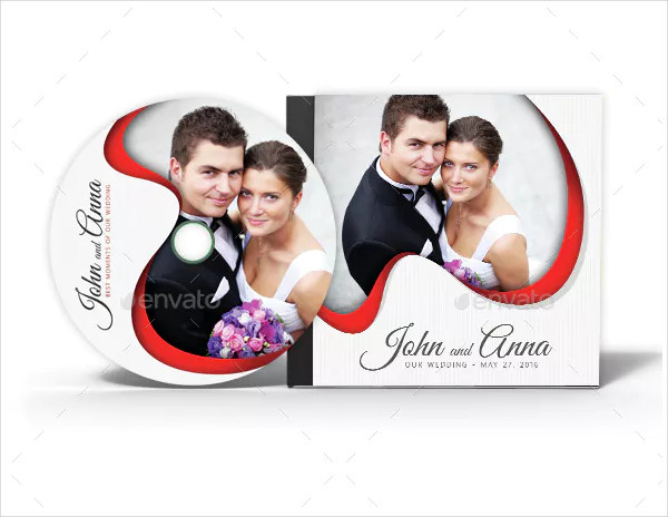 Popular Wedding Event CD Cover Design