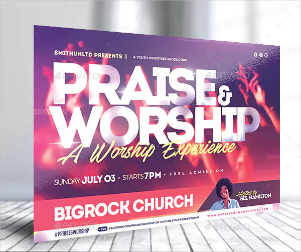Praise and Worship Flyers Complete Set