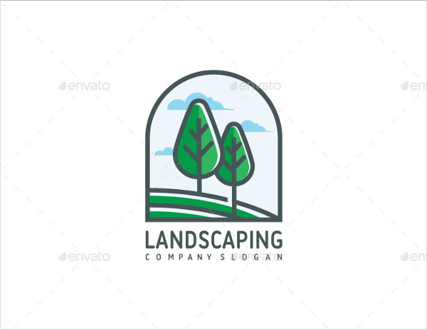 Printable Landscaping Logo Design