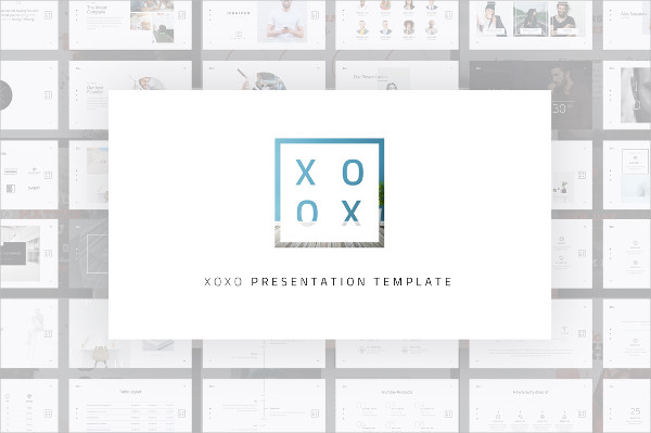 Printable Minimal Powerpoint Template