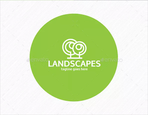 Professional Landscapes Logo Design
