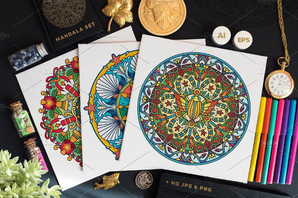 Seasonal and Holiday Mandalas