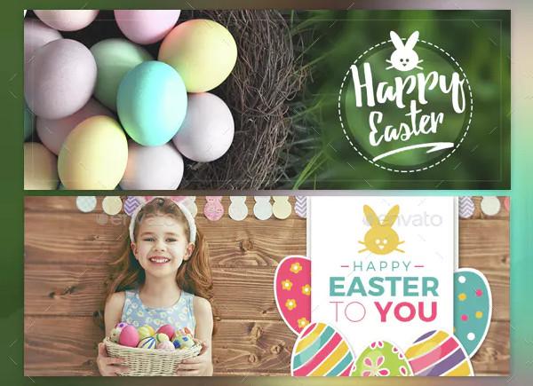 Unique Easter Facebook Timeline Cover