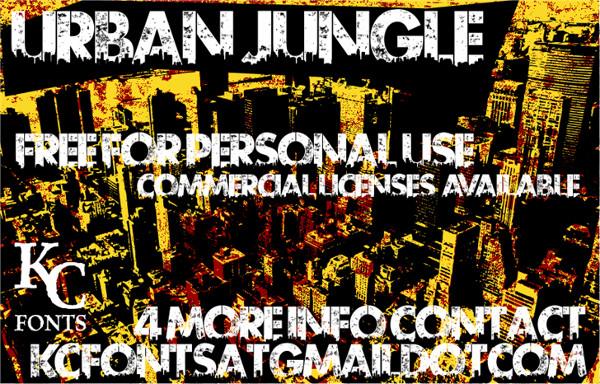 Urban Jungle Font Free