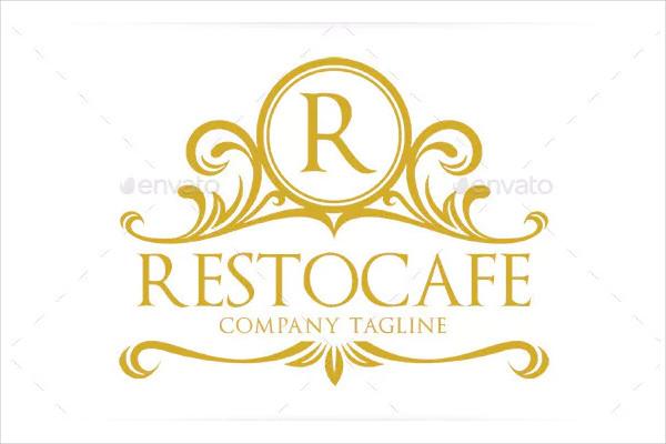 Vintage Cafe Logo Template