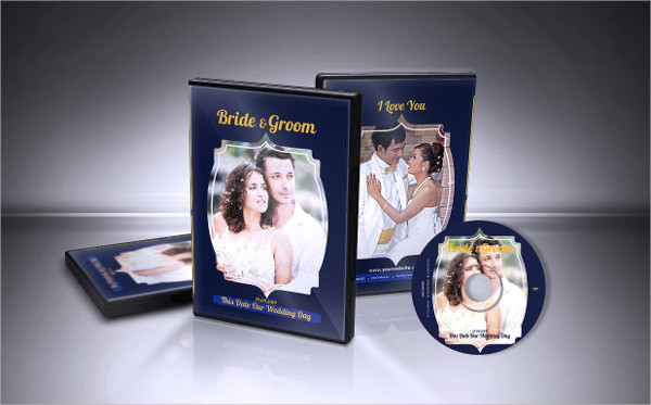 Wedding DVD Cover & CD Label