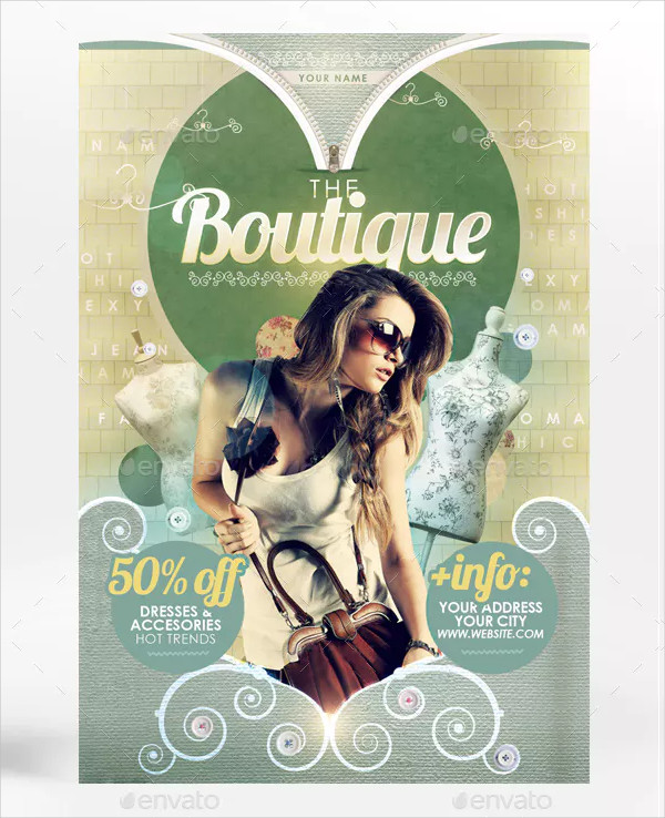 Best Boutique Flyer Templates