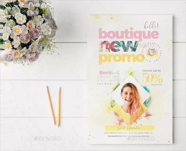Boutique New Promo Flyer