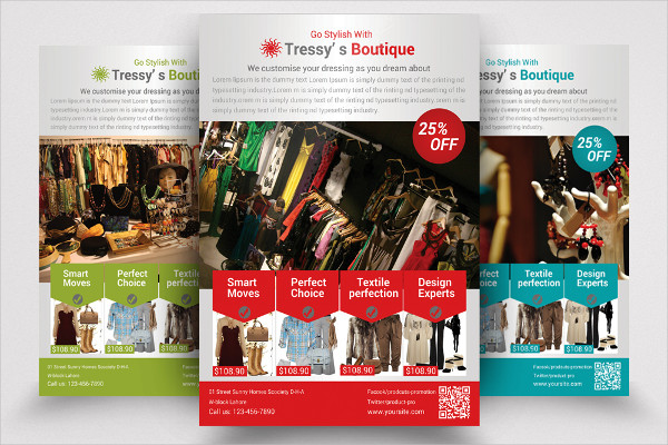 Boutique & Outfit Store Flyer