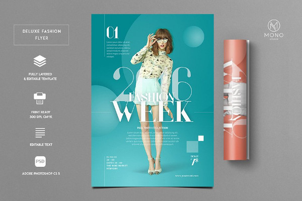 Deluxe Fashion Flyer Template
