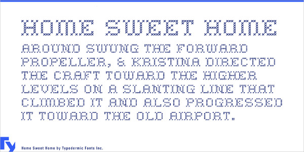 Sweet Home Font Family Free